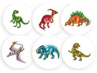 Dinosaur Cake Topper Sets