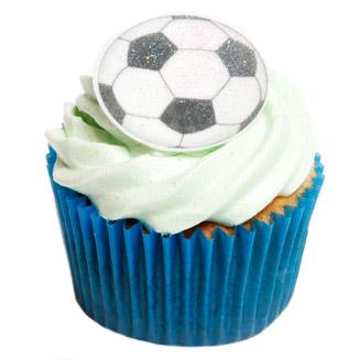 12 Edible Football Cake Decorations Holly Cupcakes