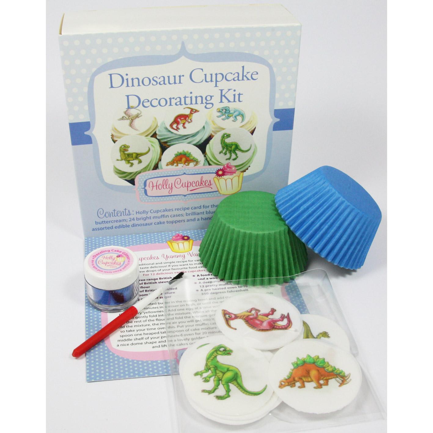 Dinosaur Cupcake Decorating Kit Holly Cupcakes
